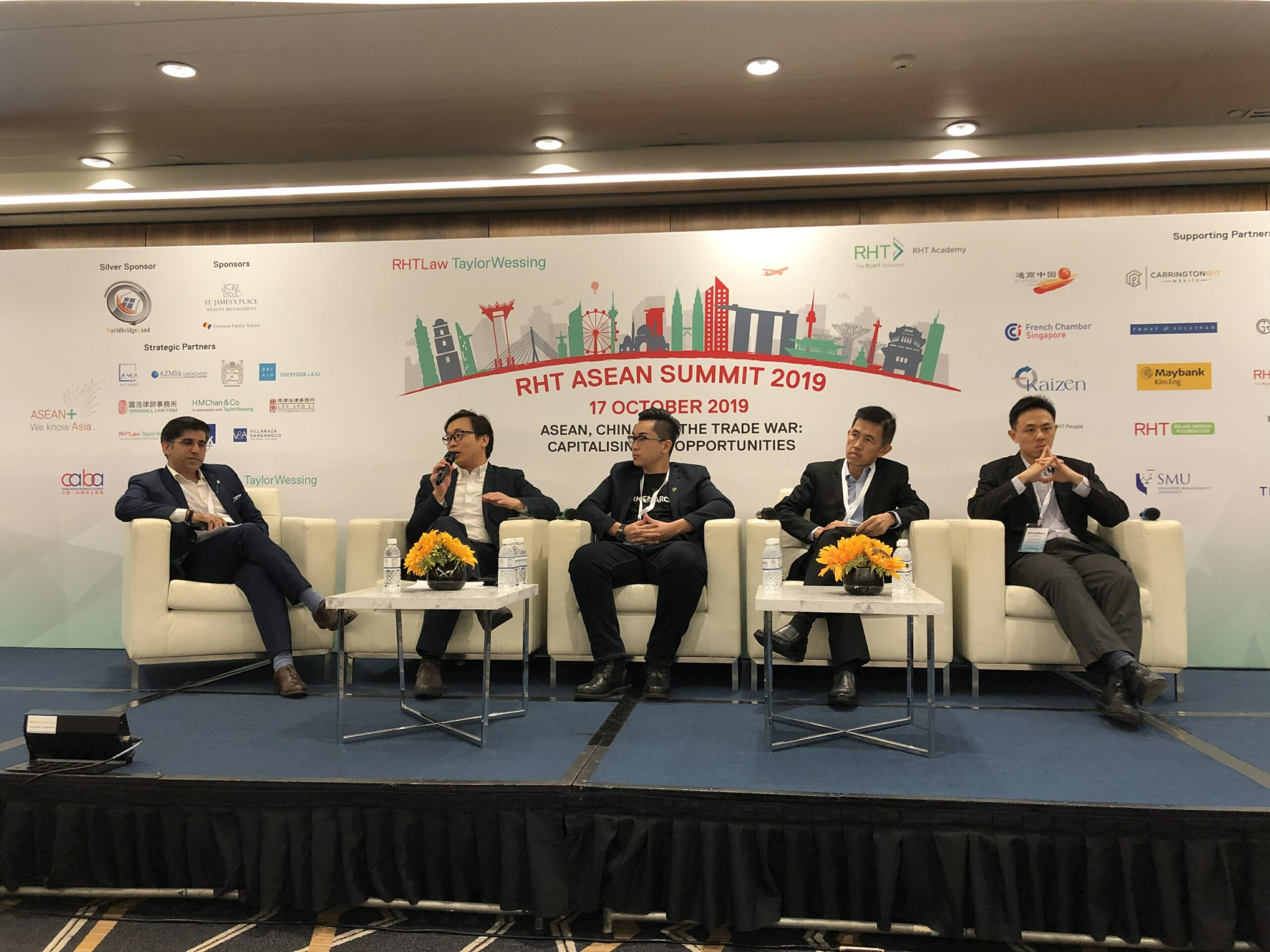 , Catching Up with Anndy Lian, Inter-Governmental Blockchain Advisor at the Singapore Fintech and Blockchain Week 2019, Blockcast.cc- Blockchain, DLT, Crypto News