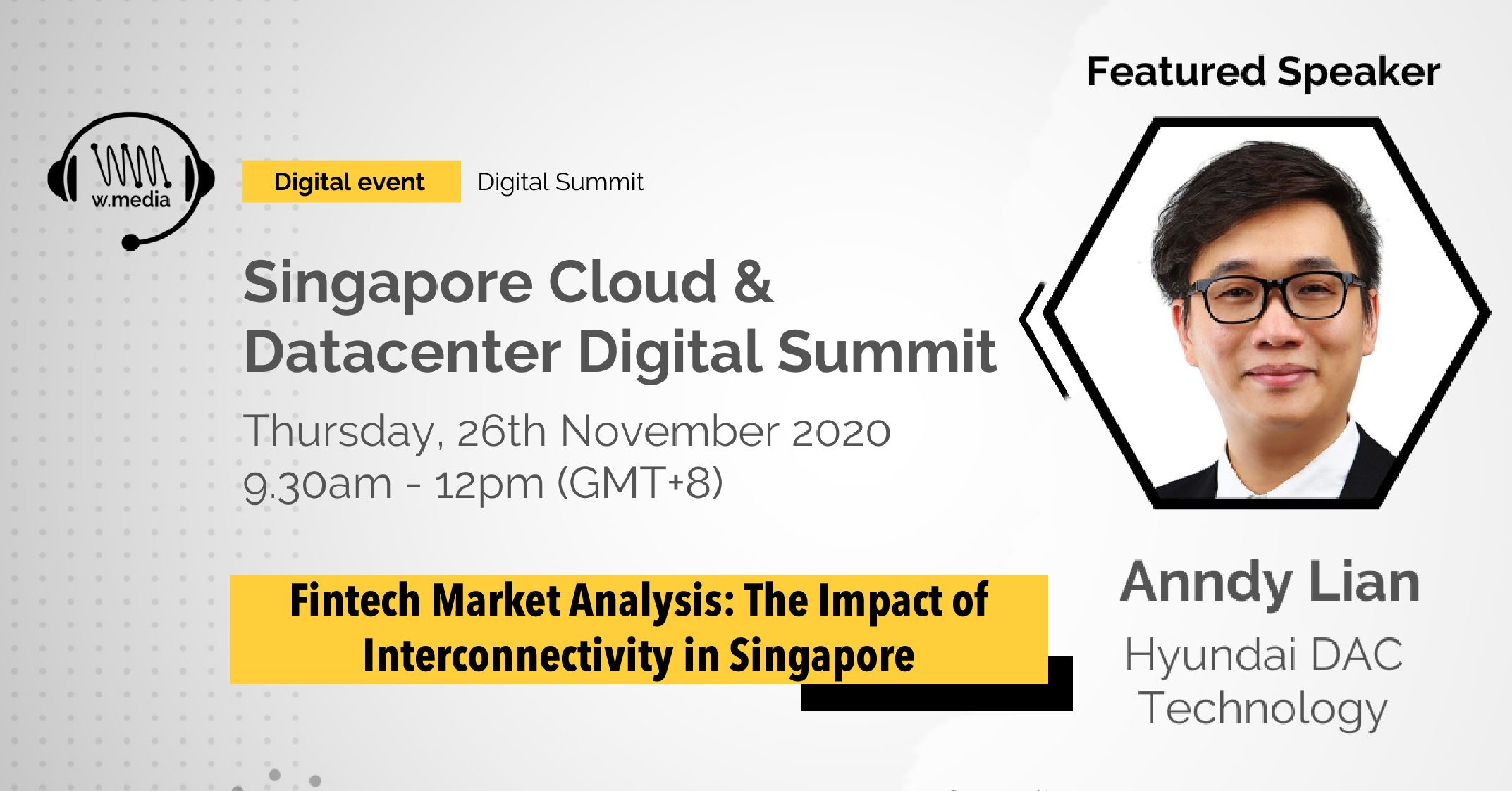 Anndy Lian Shared his views on the role of Central Bank Digital Currencies and Cryptocurrencies CBDC at Singapore Cloud Datacenter Digital Summit